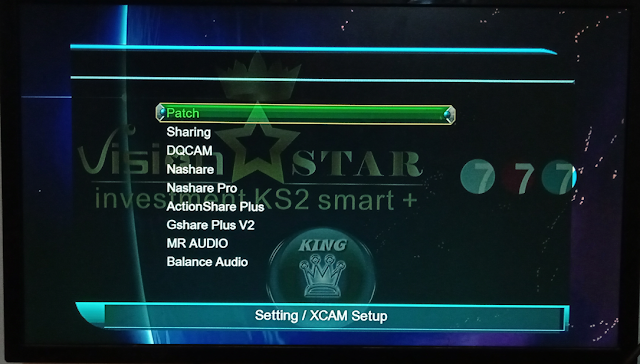 VISION STAR 777 1507G 1G 8M NEW SOFTWARE WITH G SHARE PLUS V2 & BALANCE AUDIO OPTION