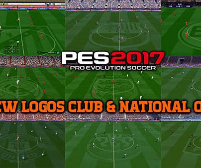 PES 2017 New Club & National Logo On Pitch