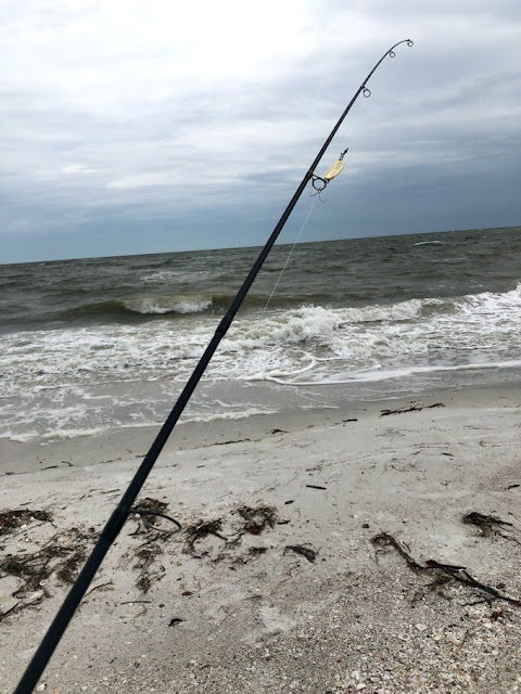 Fishing The Gulf Coast of Florida during Tropical Storm Barry