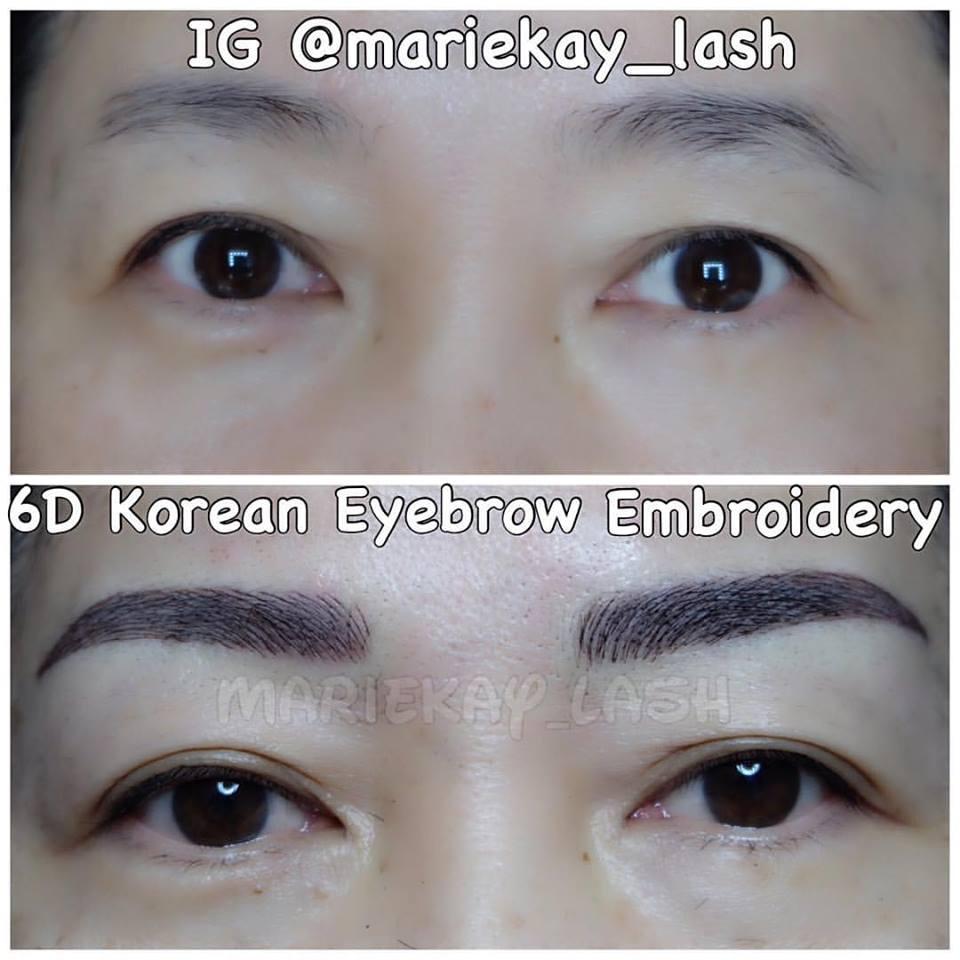 3d Korean Eyelash Extension Kursus Sulam Alis Bibir Eyeliner And