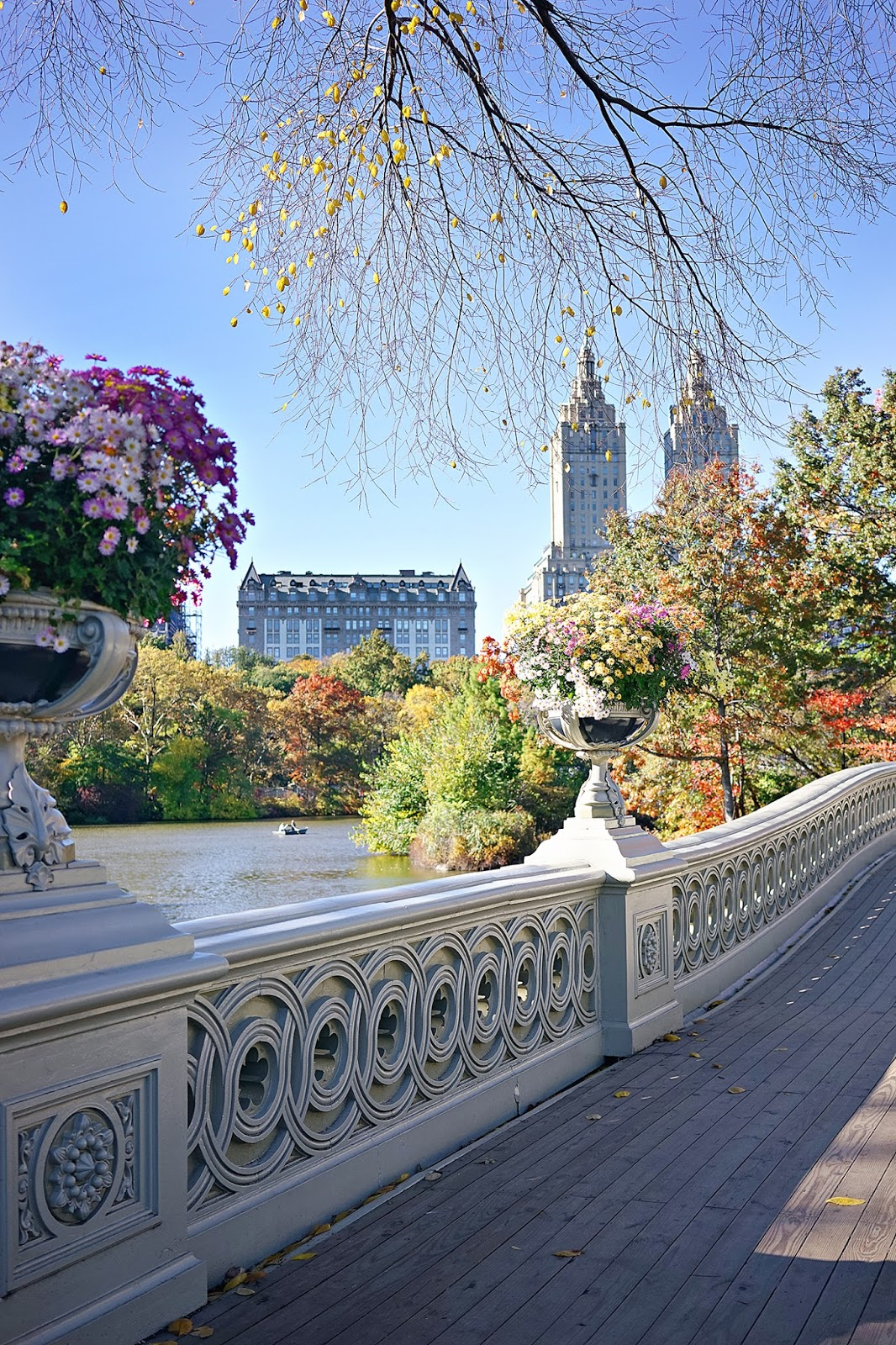 Bow Bridge, Central Park, New York City, Fall