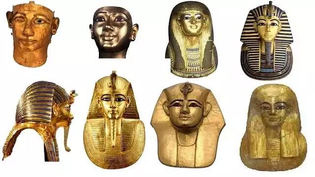 Egyptian Golden Masks
