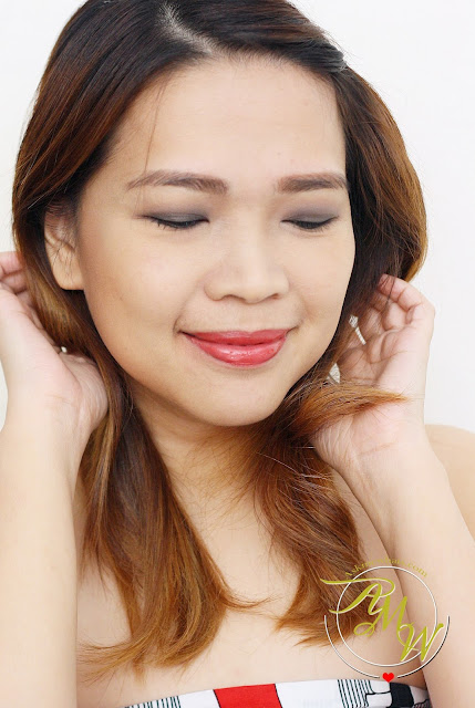 a photo of Nikki Tiu AskMeWhats My Kanebo Selection Colors Eyeshadow + Moisture Rouge Look