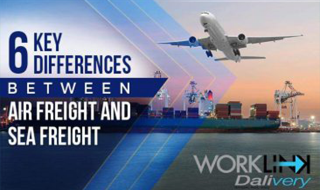 6 Key Differences Between Air Freight and Sea Freight