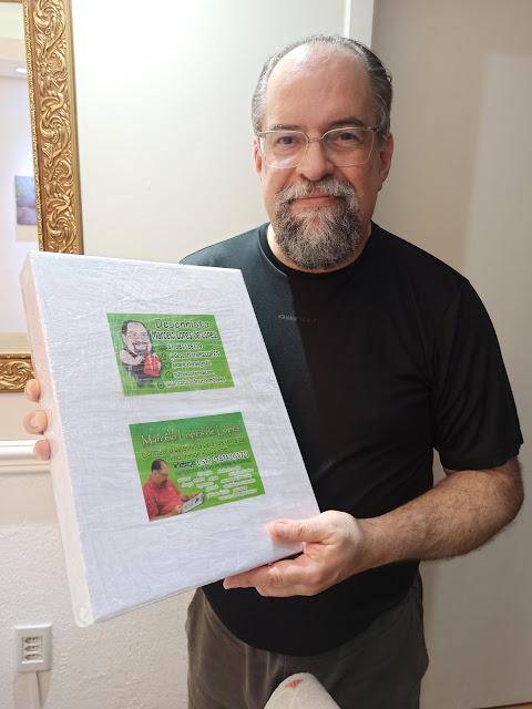 Desenhista, caricaturista, ilustrador, cartunista, Marcelo Lopes de Lopes