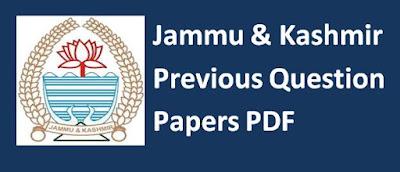 Jammu & Kashmir Previous Papers