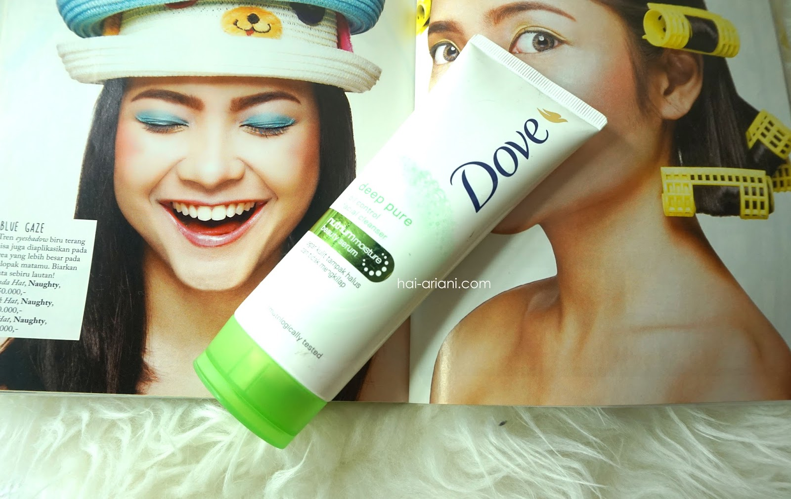 DOVE PURE DEEP FACIAL FOAM