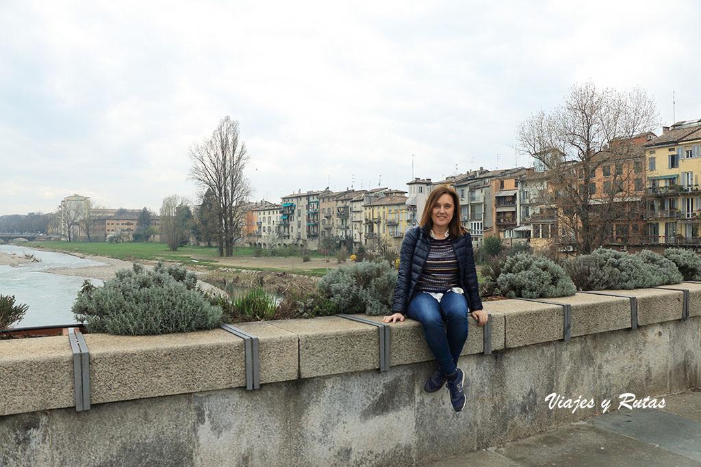 Puente Guiseppe Verdi, de Parma