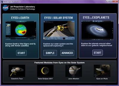 NASA's Eyes Visualization 5.4.2.12050480