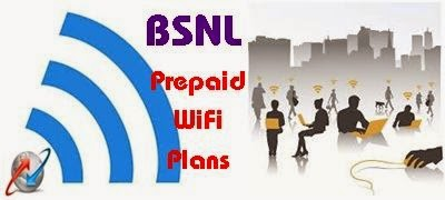 BSNL introduced prepaid WiFi tariff plans