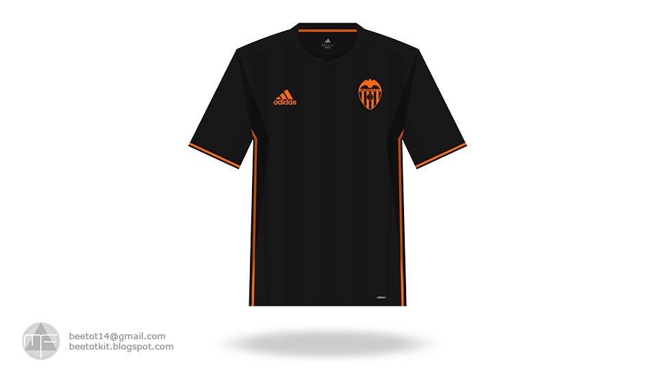 buy online a1ec1 3e63a Beetot Kit: Valencia CF Kit 16/17