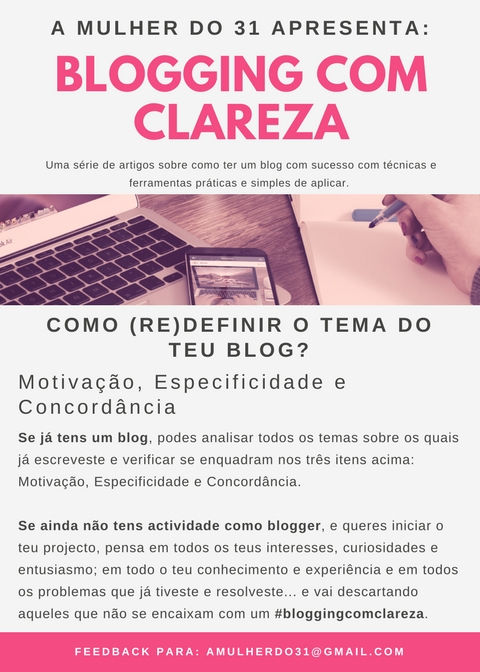 Como (Re)Definir o tema do teu blog
