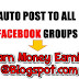 Auto Post on Facebook Groups with Single Click