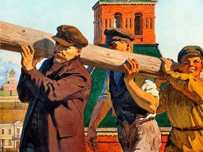 1 мая 1920 году провели первый Всероссийский субботник.