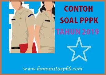 Contoh Soal Tes Seleksi PPPK 2019