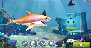 games ikan makan ikan shark attack