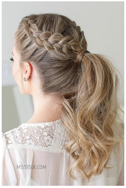 ponytail hairstyles how to
