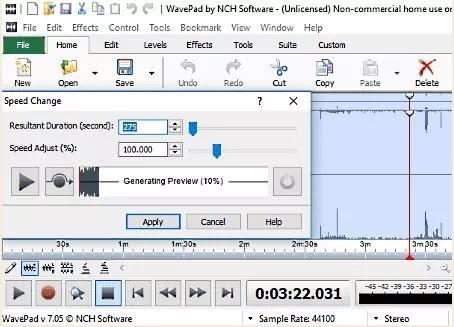Software Untuk Mengubah Kecepatan Audio-5