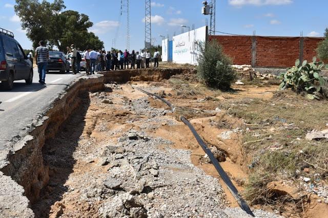 ولاية المهدية تقاضي مواطنا تسبب في انهيار سور مدرسة خلال الفيضانات !