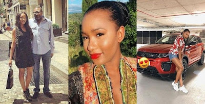 Femi Otedola surprises daughter with brand new Range Rover Evogue as an early graduation gift