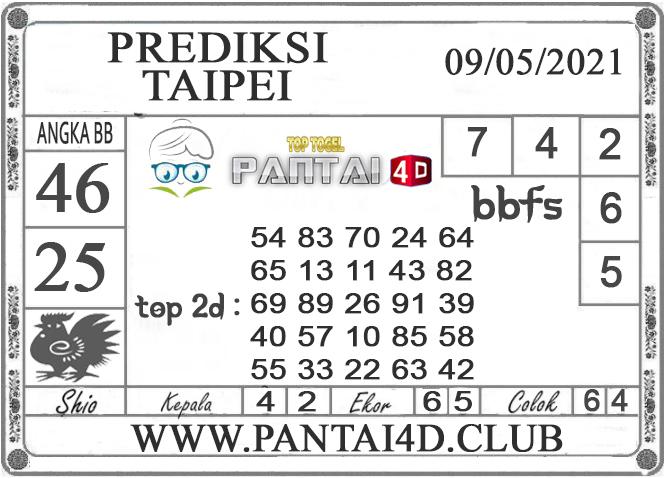 PREDIKSI TOGEL TAIPEI PANTAI4D 09 MEI 2021