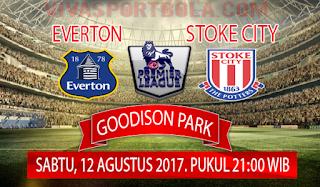 Prediksi Everton vs Stoke City 12 Agustus 2017