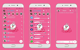 Cute Cat Theme For YOWhatsApp & Fouad WhatsApp By Leidiane