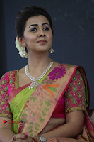 Actress Nikki Galrani Latest Pos in Saree Neruppu Da Movie Audio Launch  0002.jpg