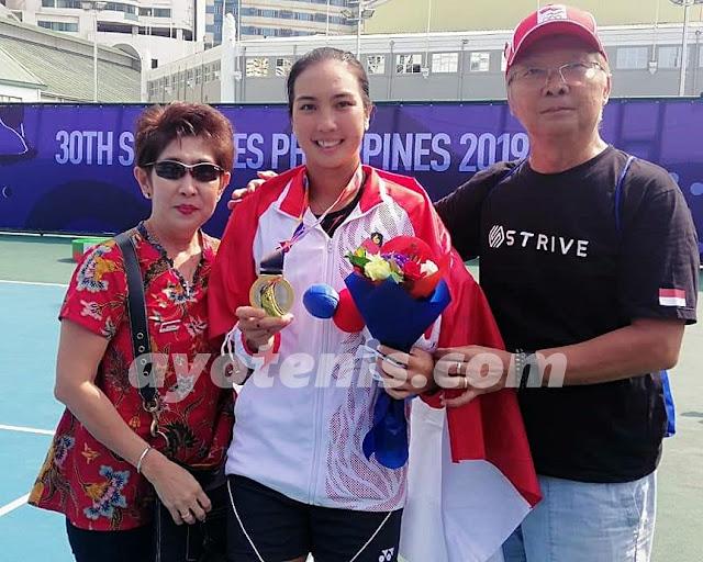 Aldila Sutjiadi Ulang Tahun, Ortu Doakan Sang Putri Dapat Berlaga di Grand Slam dan Olimpiade