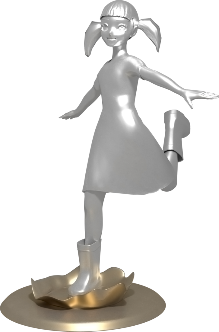 render figura splash