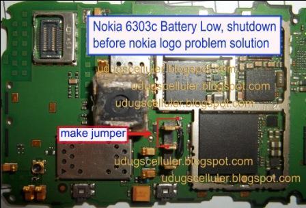 symphony low battery shutdown solution