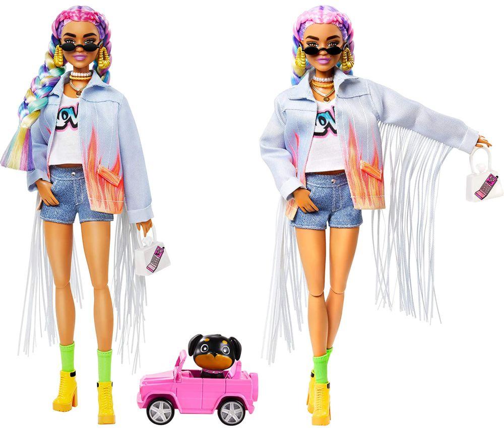 Кукла Barbie Extra Rainbow Braids