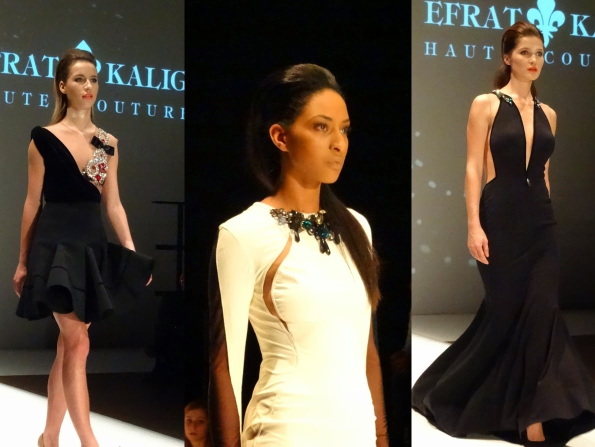 Designs and dresses by Efrat Kalig