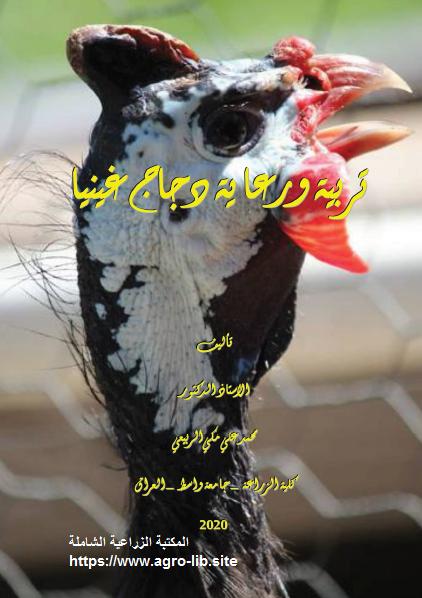 كتاب : تربية و رعاية دجاج غينيا