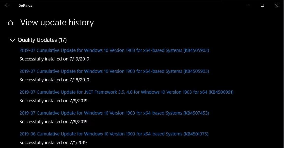 حل مشكلة 0x80071160  في تحديث وينذوز 10