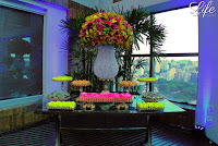 formatura hotel sheraton porto alegre pool bar mesa de doces