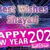 125+ Happy New Year 2021 Wishes Shayari Status in Hindi