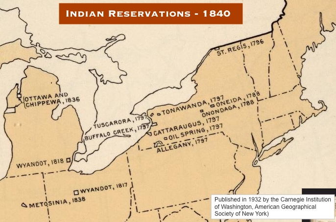Map Of New York Indian Reservations.Infographics Maps Music And More Native American History New