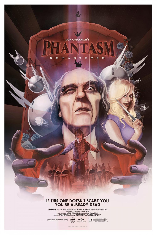 Póster para el estreno en cines de 'Phantasm: Remastered'