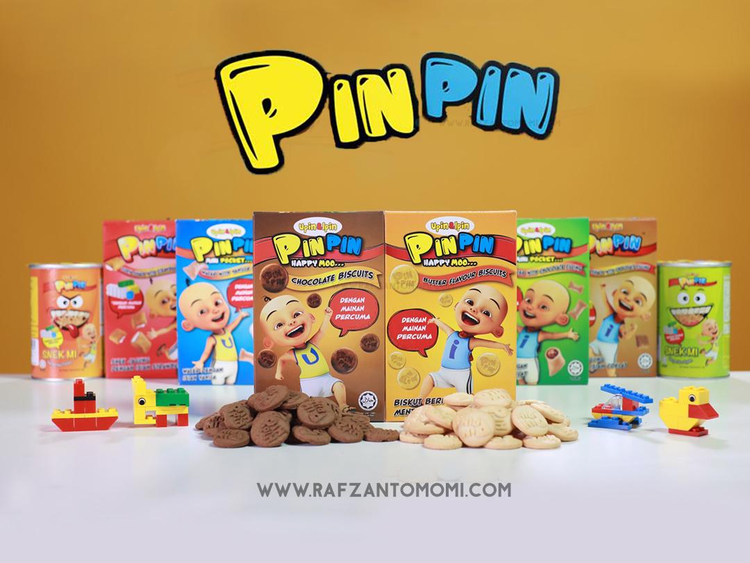 Biskut PinPin - Biskut Enak Dari Upin Ipin Dengan Mainan Percuma !