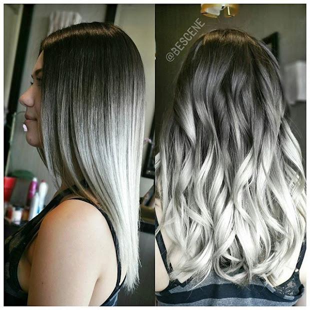 trendy metallic hair shades