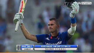Alex Hales 109 - Pakistan vs England 2nd ODI 2015 Highlights