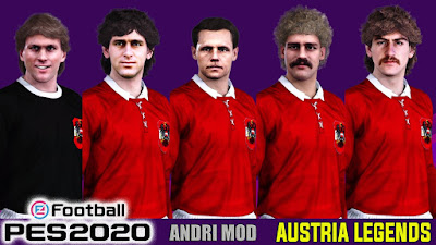 PES 2020 Facepack Legends Yugoslavia by Andri Mod