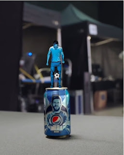 (Video) Messi shows his juggling skill in the new Pepsi advertisement