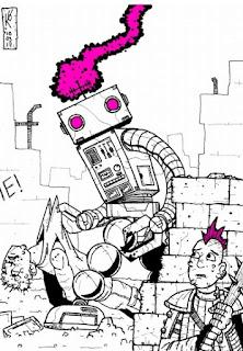 """Robo Killer""  by Kelvin Green  (C) 2017 DIY RPG Productions"