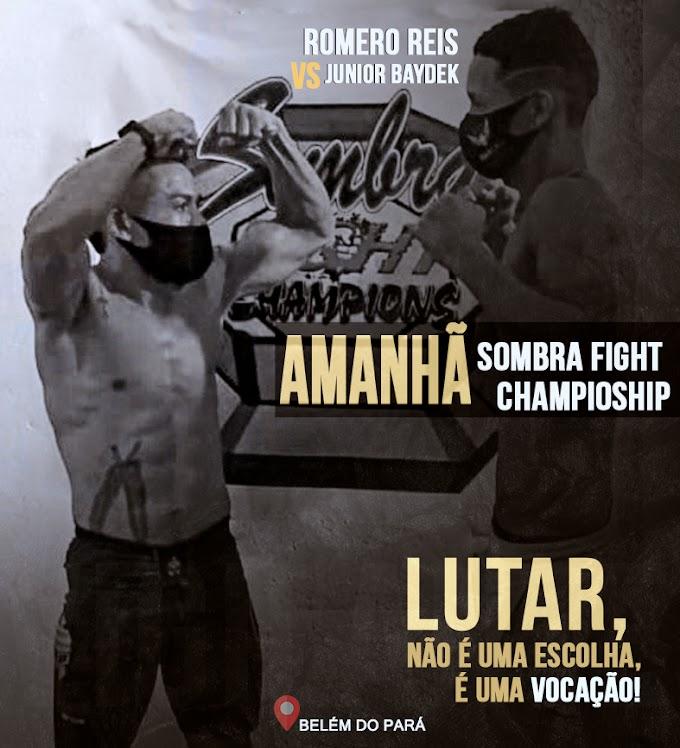Atleta Luziense Romero Reis  bate o peso e está preparado para lutar no Sombra Fight  Champioship.