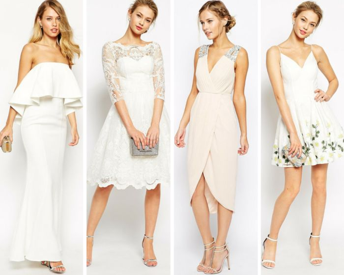 Lovable White For Summer Guest Dresses Of Wedding