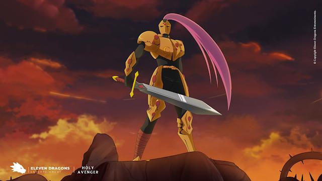 Holy Avenger animação Paladino