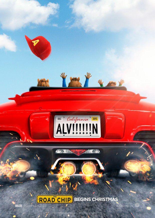 Alvin and the Chipmunks 4 The Road Chip แอลวิน 4 กับสหายชิพมังค์จอมซน [HD]