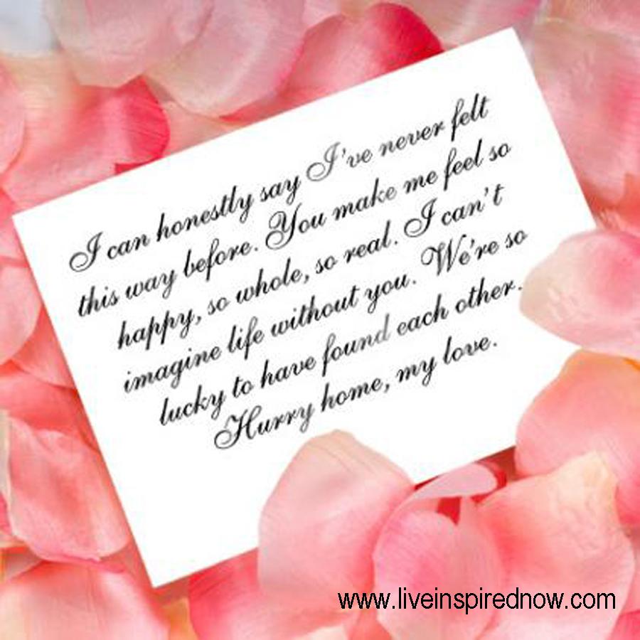 Beautiful love letter to boyfriend